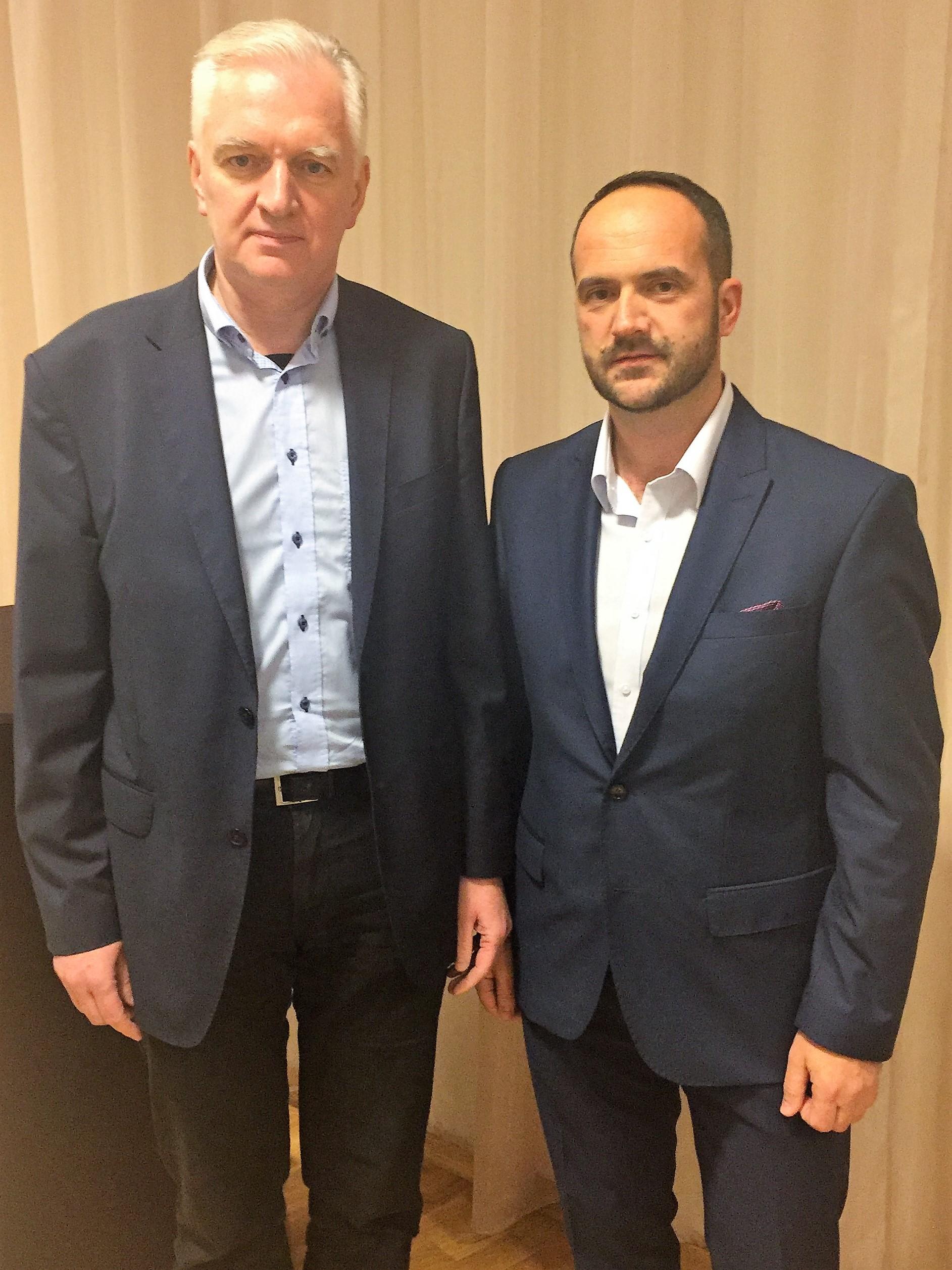 Spotkanie z Premierem RP Jarosławem Gowinem