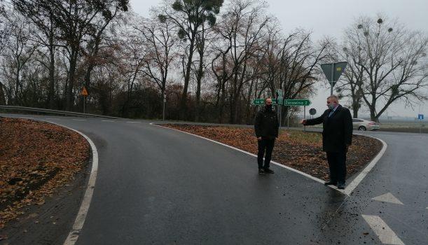 Droga w Godzieszowej, gm. Długołęka  uzyskała dofinansowanie