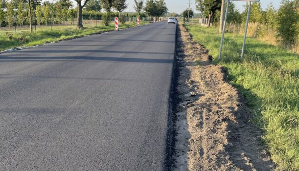 Droga w Galowicach